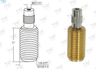 China All Threaded Adjustable Cable Grippers Raw Brass Material With  Security Head supplier