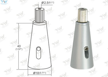 Reliable Time - Saving Steel Cable Gripper Cone Shaped With Security Cap