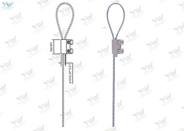 Lifting Ropes Slings / Wire Rope Assemblies SS 304 Safe Rope For Hanging Systems