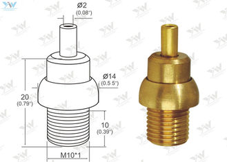 China Bottom Cable Exit Brass Cable Gripper Adjustable Wire Grippers No Finishing Color supplier