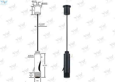 China Black Light Hanging Kit / Aquarium Light Suspension Kit 1 Meter Length Wire supplier