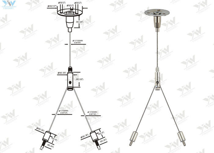 Remarkable Cross Cable Aquarium Light Hanging Kit Wire Suspension Systems Wiring Digital Resources Remcakbiperorg