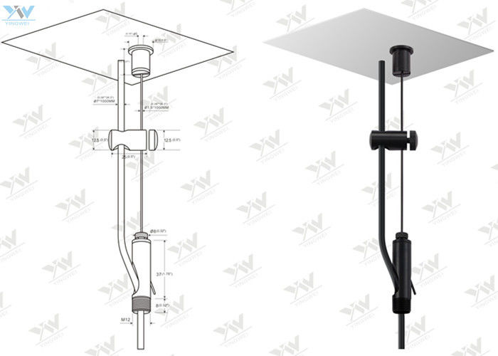 power feed steel wire hanging systems with cable holder