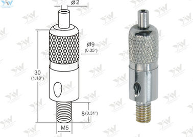 M5 External Threaded Aircraft Cable Adjustable Fittings For Hanging Light Fixtures
