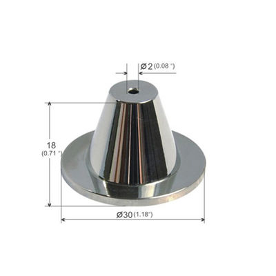 Cylindrical Trapezoidal Ceiling Attachment With A Plate for hanging systems YW86279