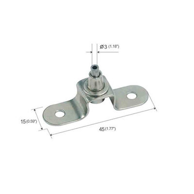 Adjustable U Type Ceiling Metal Plate For cable hanging Systems YW86281